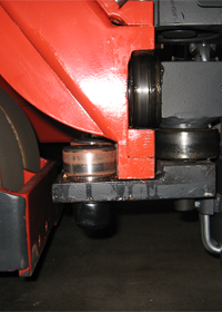 heavy duty support rollers