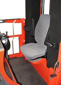 Spacious Compartment Folding Seat