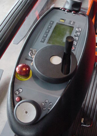 Rotation Console Cab View